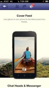 Facebook Home iOS Ad -- Screen 2