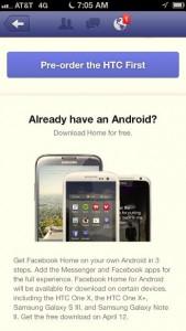 Facebook Home iOS Ad -- Screen 5