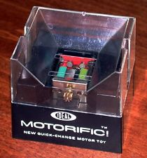 Motorific Motor for Ideal Toy Motorific slot cars; Boaterific boats; and Zeroid robots