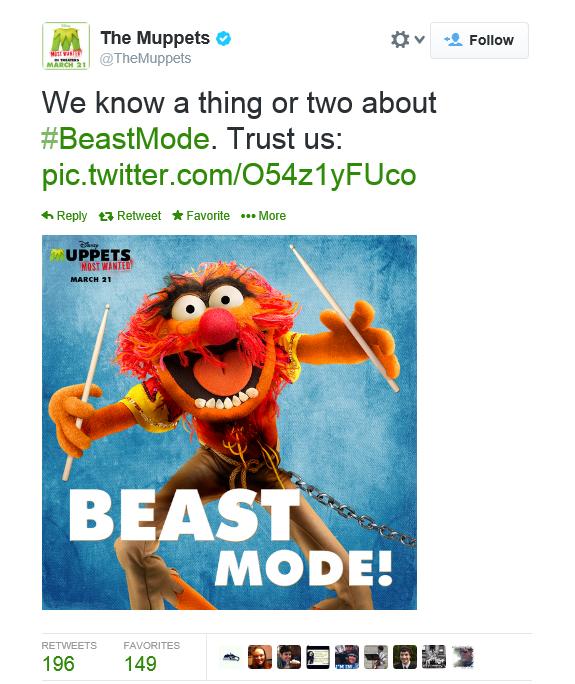 Animal goes Beast Mode!