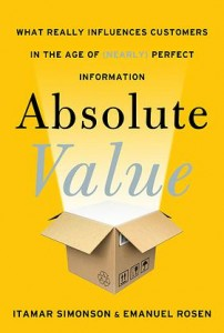 Absolute Value book cover