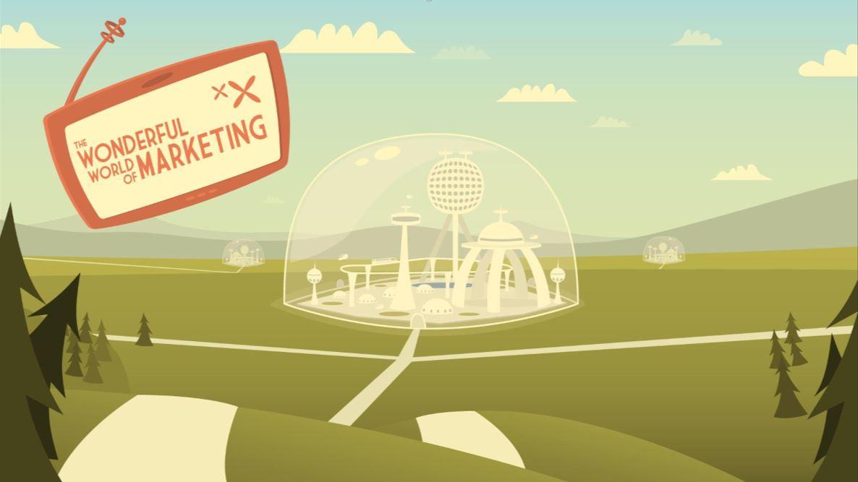 Wonderful World of Marketing Opening Screen