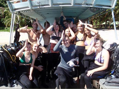 B.A.D (Beqa Adventure Divers) Dive Boat