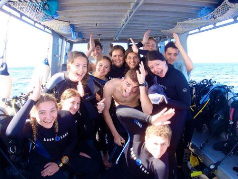 Broadreach Fiji Shark Dive Boat