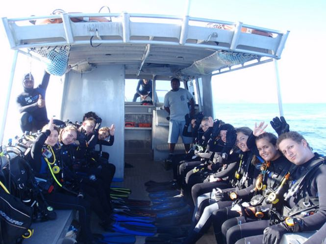 Broadreach Fiji Final Dive