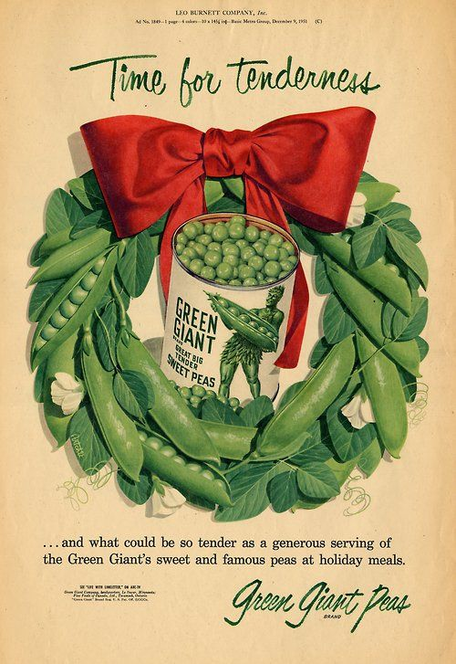 Green Giant Holiday Wreath