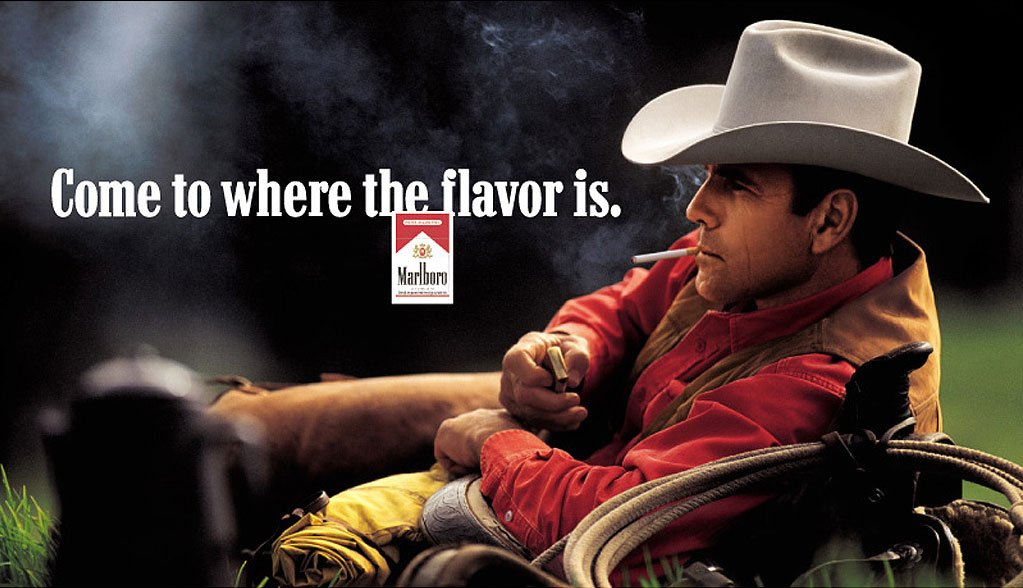 Marlboro -- Come to where the flavor is