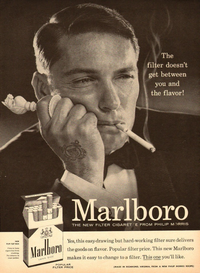 Marlboro Man Tuxedo and Tattoo