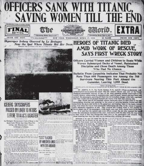 Titanic_Newspaper_Front_Page_1912-04-17_The_Evening_World__New_York__NY___April_17__1912__Final_Edition-Extra__Page_1