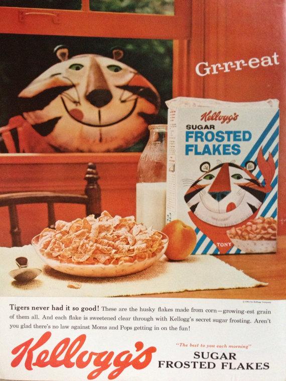 Tony the Tiger 1962
