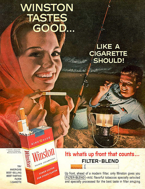 Winston Tastes Good Like a Cigarette Should