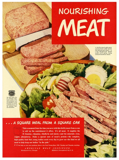 American Meat Institute A Square Meal from a Square Can