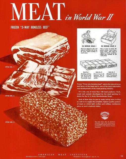 American Meat Institute WWII