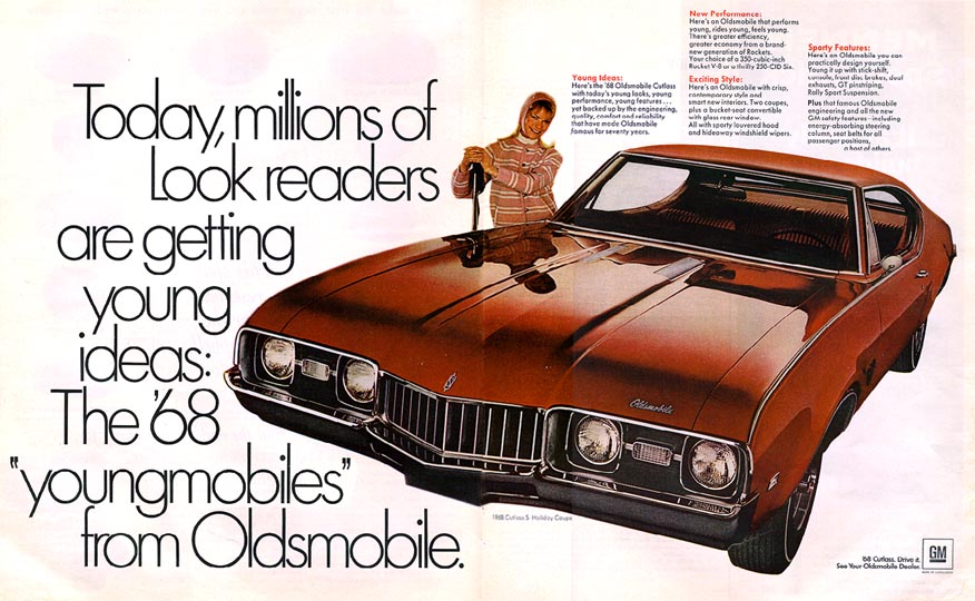 Oldsmobile Youngmobile Red 1968