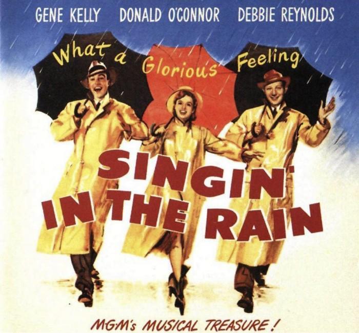 Singin' in the Rain Lobby Poster