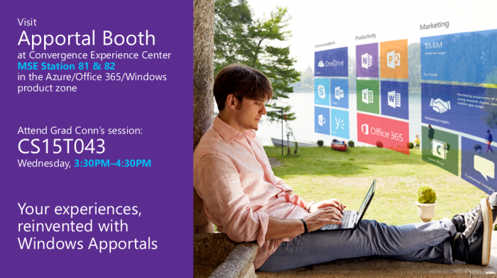 Windows Apportals at Convergence 2015