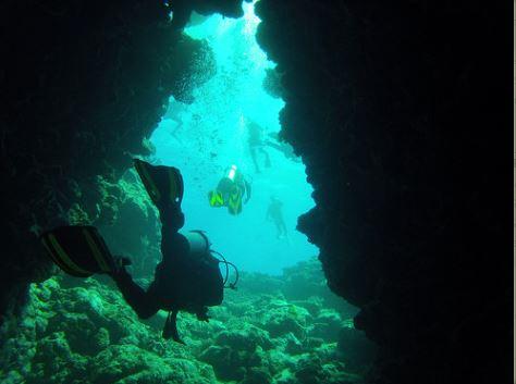 Broadreach Fiji Diving Cave