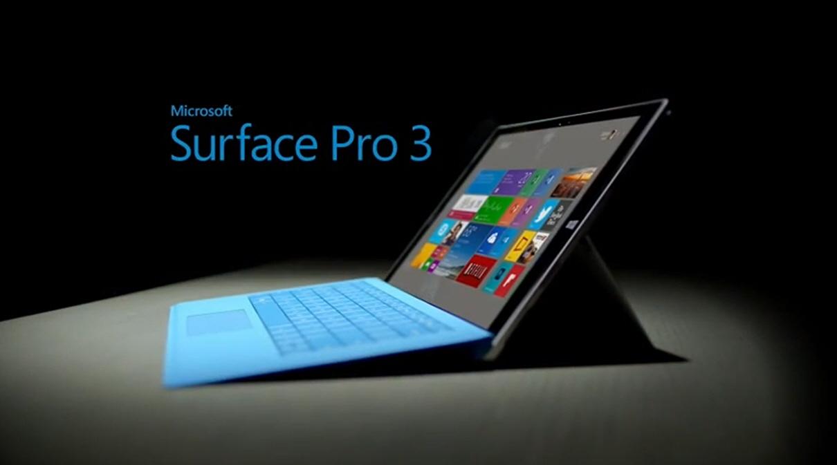 Microsoft Surface Pro 3 Laplet