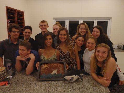 Broadreach Fiji Kids with Cake