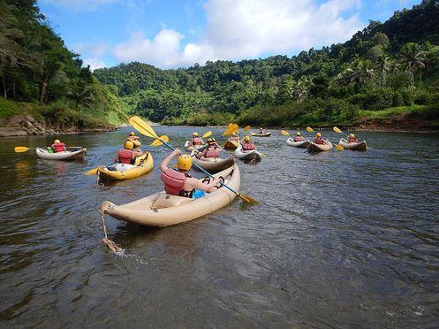 Broadreach Fiji Paddling