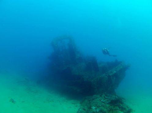 Broadreach Fiji Wreck Diving