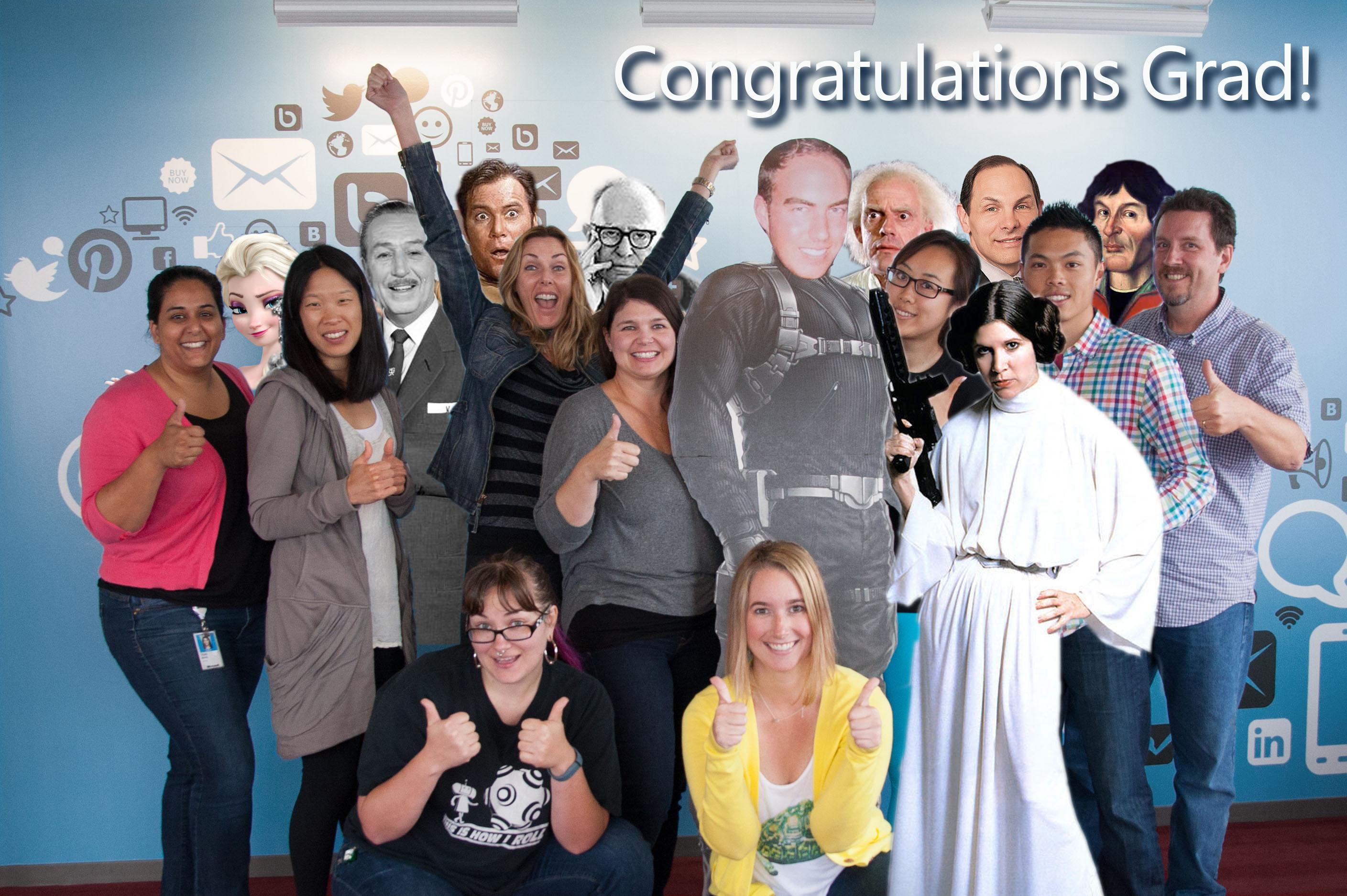 Congratulations Grad from Lincoln Square