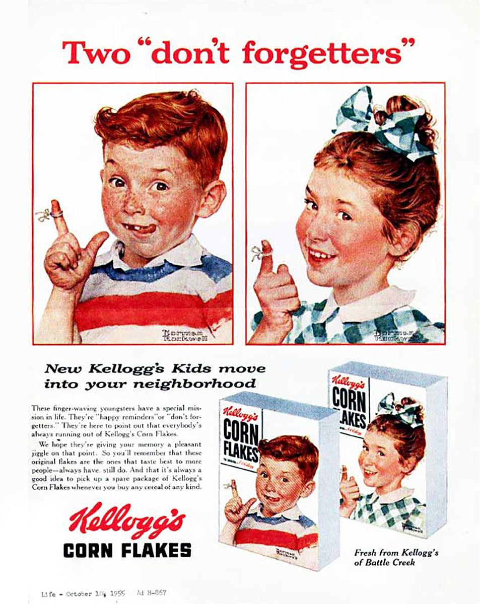 Corn Flakes LIFE Magazine October 10 1955