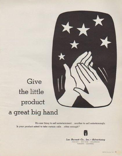 Leo Burnett House Ad 1963