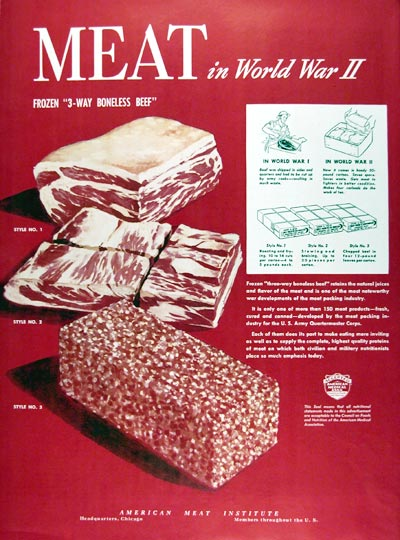 American Meat Institute WWII Ad