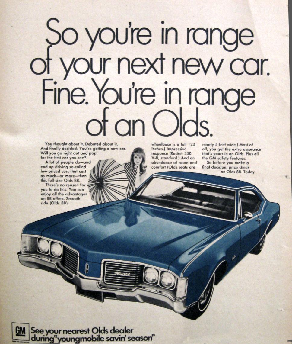 Oldsmobile 88 1968