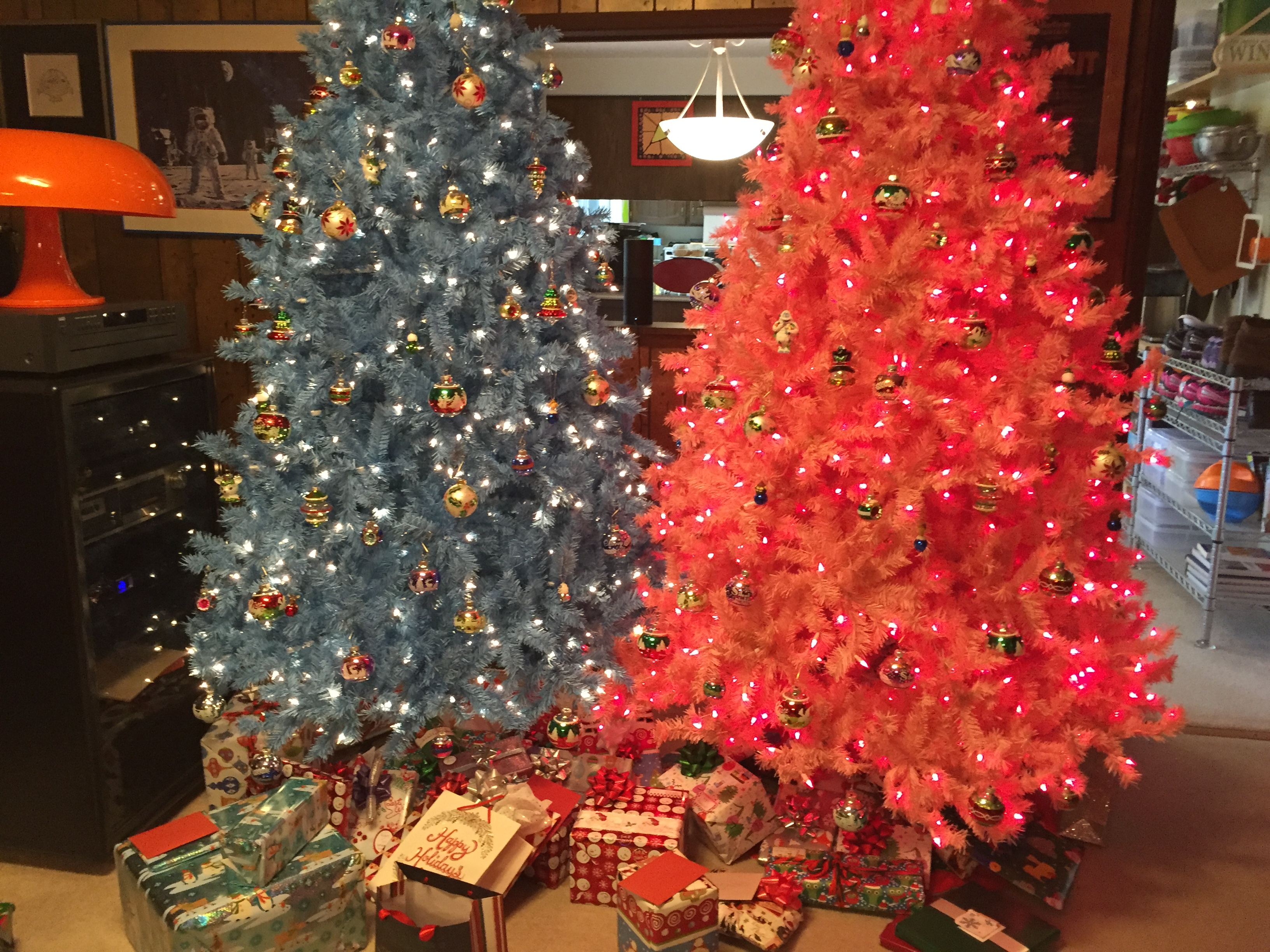 Chick Flick the Musical Christmas Trees 2015 LANDSCAPE