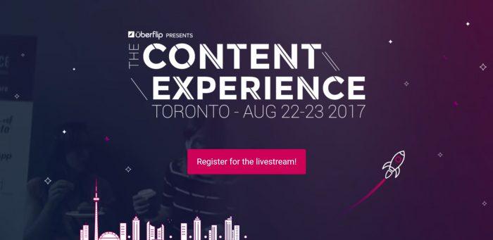 Uberflip Conex17 Conference
